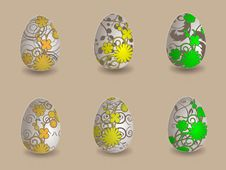 Free Easter Eggs Stock Images - 19165984