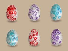 Free Easter Eggs Royalty Free Stock Photo - 19165995