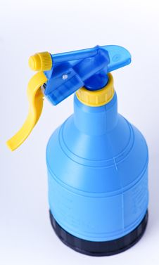 Bootle With Sprayer Royalty Free Stock Photography