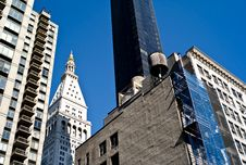Buildings Of New York City Stock Images