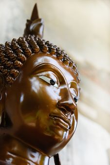 Free The Face Of Buddha Stock Images - 19167784