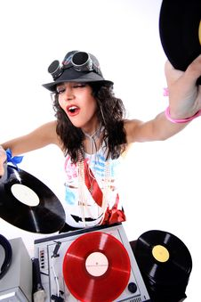 Free Cool DJ Stock Photography - 19168572