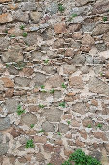 Free Old Stone Wall Background Stock Images - 19168584
