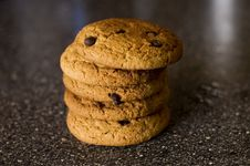 Pile Cookies Royalty Free Stock Image