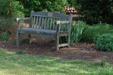 Free Park Bench Stock Image - 19169421