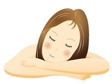Massage Famale Royalty Free Stock Photos