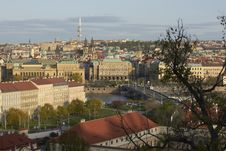 Free Prague Panorama Royalty Free Stock Photography - 19169687