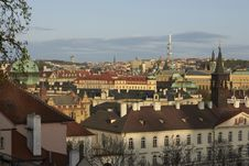 Free Prague Panorama Stock Photo - 19169690