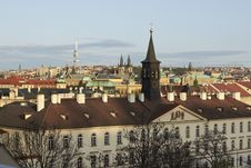 Free Prague Panorama Stock Photography - 19169692