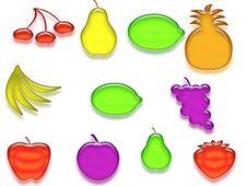 Free Glossy Fruits Stock Photo - 19169970