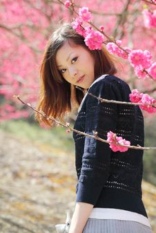 Young Japanese Woman Royalty Free Stock Image