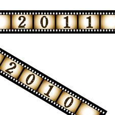 New Year Background. Stock Images