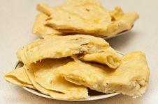 Free Tatar Potato Stuffed Fried Pastry Stock Photography - 19171182