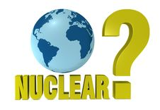 Free Nuclear Question Stock Photography - 19172492