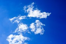 Free Clouds In The Blue Sky Royalty Free Stock Photography - 19172527