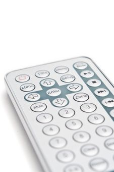 Free DVD Remote Keypad Royalty Free Stock Images - 19173289