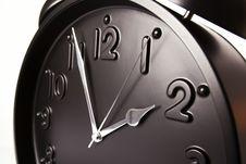 Free Macro Of Black Alarm Clock Stock Image - 19173421