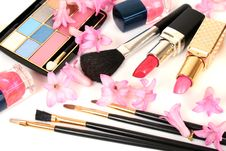 Free Decorative Cosmetics Royalty Free Stock Image - 19174346