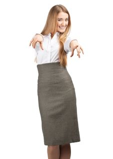 Free Businesswoman Pointing At Viewer Royalty Free Stock Photo - 19175575