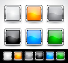 Free Buttons For Web. Vector. Stock Photo - 19175860