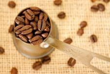 Free Coffee Beans Royalty Free Stock Photos - 19175888