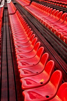 Free Red Seat Royalty Free Stock Photos - 19176258