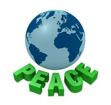 Free Peace For The World Stock Photography - 19176382