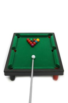 Free Billiard Snooker Royalty Free Stock Photos - 19177098