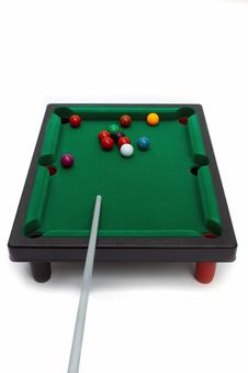 Free Board Game -   Snooker Royalty Free Stock Images - 19177099