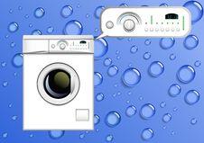 Free Washing Machine. Stock Photo - 19177430