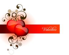Free Heart Valentines Day Background Royalty Free Stock Photography - 19177547