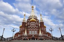 Free Orthodox Cathedral Stock Photo - 19177790