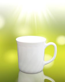 Free White Cup Coffee Stock Photo - 19179290