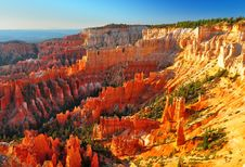 Bryce Canyon Panorama Royalty Free Stock Images