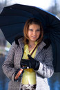 Free Girl With Umbrella Stock Photo - 19181320