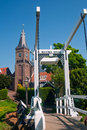 Free Maxima Bridge In Village Marken Stock Image - 19183571