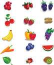Free Summer Fruits Royalty Free Stock Photo - 19185285