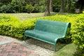 Free Bench In Garden Royalty Free Stock Photos - 19188448