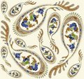 Free Seamless Background From A Paisley Ornament, Fashi Stock Image - 19189011