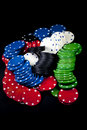 Free Poker Chips Royalty Free Stock Images - 19189989