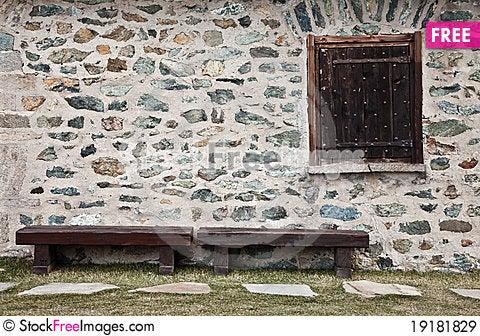 Free Mountain Refuge - Italy - Dolomiti Mountains Royalty Free Stock Images - 19181829