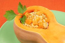 Free Pumpkin Risotto Stock Images - 19180504