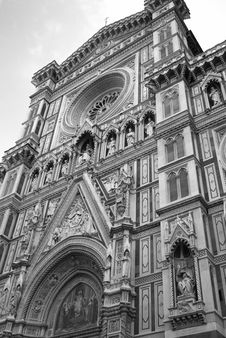 Free Florence: Santa Maria Del Fiore (Duomo) Royalty Free Stock Photography - 19180957