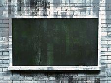 Free Old Blackboard Stock Photos - 19181293