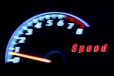 Free Speedometer. Stock Images - 19181304