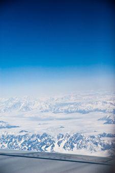 Free Tibet Snow Moutain In Air Stock Photos - 19181353