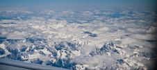 Free Tibet Snow Moutain In Air Royalty Free Stock Photo - 19181355
