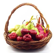 Free Fruit Basket Stock Photography - 19181892