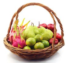 Free Fruit Basket Stock Images - 19181914