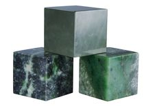 Free Cubes Of Minerals Royalty Free Stock Photo - 19182075